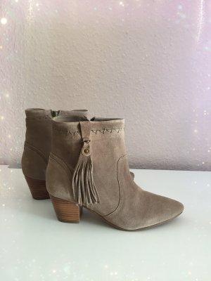 Esprit Western Booties brown-camel