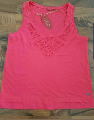 Esprit Camicia a coste rosa
