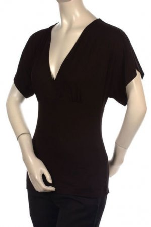 Neu! Exclusives Shirt Top von BCBG Max Azria Schwarz Gr.S