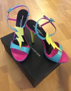 NEU! Extravagante funky high heels