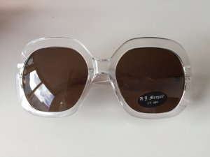 NEU !!!  extravagante Sonnenbrille transparent