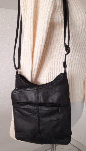 NEU!extravagante Tasche,modern,schwarz,der Hingucker!viele Fächer