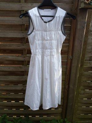 Neu Fabiana Filippi Designer Sommerkleid Kleid  LP 598 Euro Weiss gr38 M