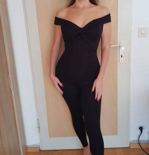 NEU Fashion Nova Jumpsuit Schwarz XS Black Elegant Sexy
