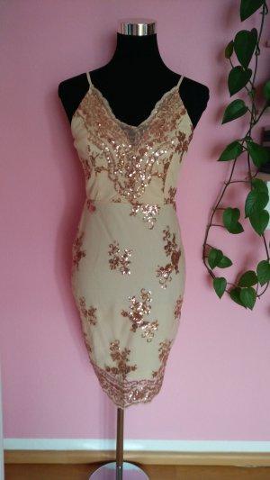 NEU, Festliches Kleid mit Pailetten für Silvester/Party/Hochzeit (Box 7)