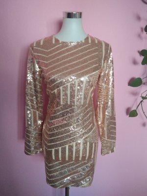 NEU, Festliches Kleid mit Pailetten für Silvester/Party (K4)