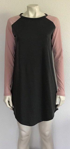 Fiftyfive DSL Shirt Dress grey-dusky pink