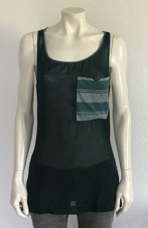 Fiftyfive DSL Camiseta sin mangas verde oscuro-verde claro