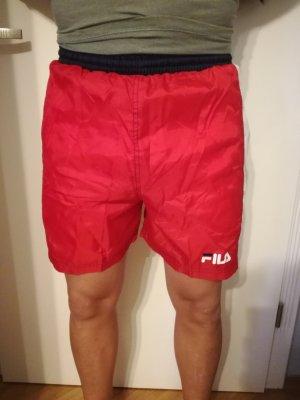 Fila Costume boxer bianco-rosso
