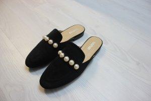Neu Flats Schuhe mit Perlen