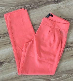 Forever 21 Pantalon chinos saumon-abricot polyester