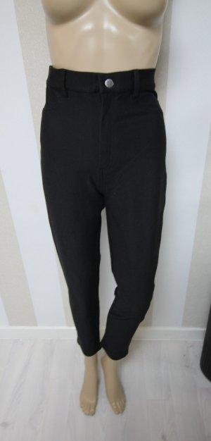 Forever 21 Hoge taille broek zwart