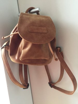 Fritzi aus preußen Backpack light brown-cognac-coloured