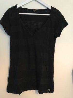 NEU G by Guess T-Shirt (Größe L, eher M) schwarz semi transparent