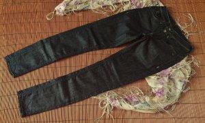 NEU G-Star skinny Jeans schwarz melierend Größe W24 L28 7/8-Jeans