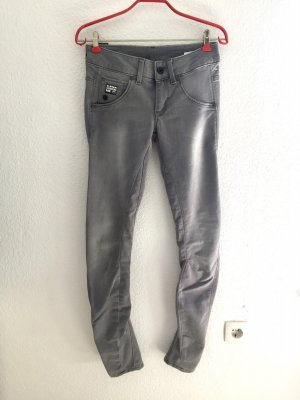 NEU G-Star Strech Super Skinny Jeans Raw 3301 grau 27/32 34/36