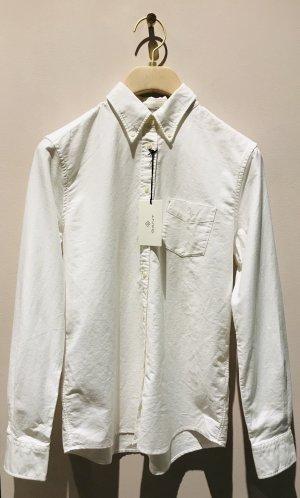 Gant Chemise à manches longues blanc