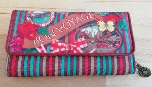 Portafogli multicolore Fibra tessile