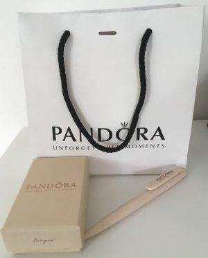 Pandora Porte-clés crème-argenté