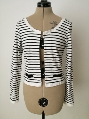 Pieces Blazer sweat blanc-noir