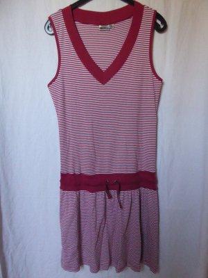 NEU: Gestreiftes Sweat-Kleid ohne Arm
