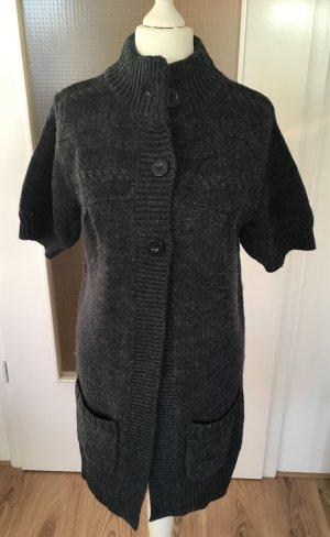Gina Knitted Coat dark blue-blue