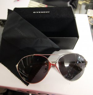 Givenchy Sunglasses silver-colored-black