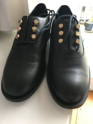 & other stories Chaussure de travail noir cuir
