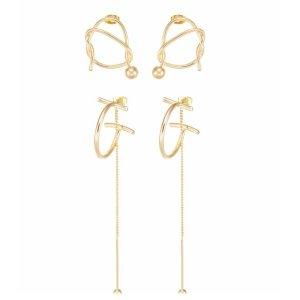 NEU Goldene Ohrringe/ Ohrhänger von ONLY