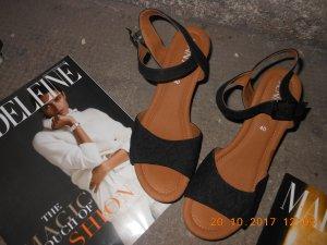 Jenny Low Shoes bronze-colored-black