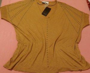 T-Shirt camel viscose
