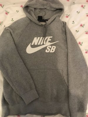 NEU! grauer Nike Pullover Gr. M