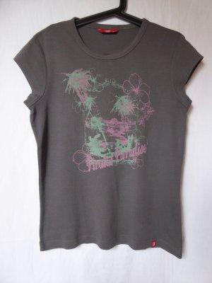 NEU: Graues T-Shirt mit Motiv von edc (Esprit)