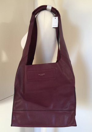 NEU - Große Leder-Tasche in Bordeaux von rag & bone New York
