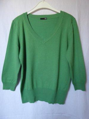 NEU: Grüner 3/4-Arm-Pullover mit V-Ausschnitt von H&M