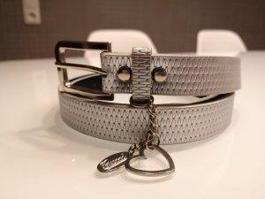 NEU Gürtel Silber 85 cm
