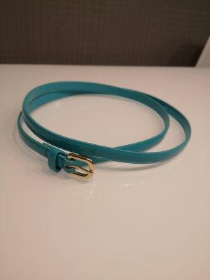 H&M Belt turquoise