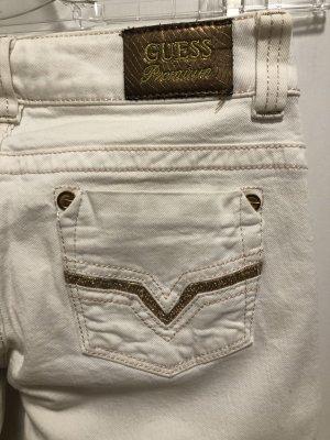 Guess Premium Boot Cut spijkerbroek wit