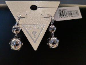 Guess Bungeloorbellen zilver