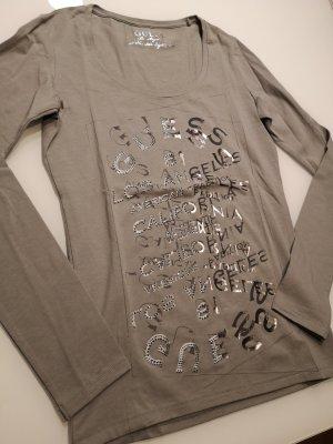 NEU! Guess Shirt grau mit Print Gr. M