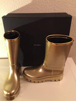 NEU! Gummistiefel Regenstiefel Stiefel D&G Dolce&Gabbana UVP 391€