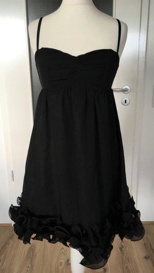 H&M Avondjurk zwart Polyester
