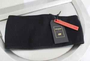 Balmain for H&M Top noir-doré