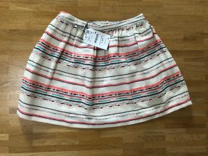Zara Skirt natural white-raspberry-red
