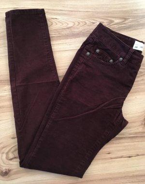 H&M Pantalone di velluto a coste multicolore Cotone