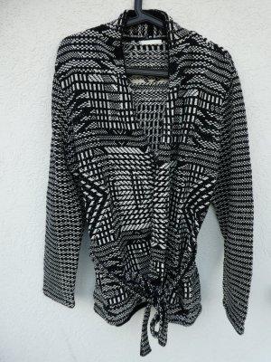 NEU - H&M – Damen Ethno-Strickjacke mit Gürtel