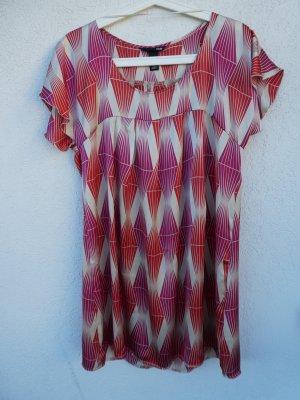 NEU - H&M – Damen kurzes Kleid, gemustert