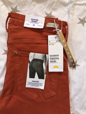 H&M Stretch broek zalm