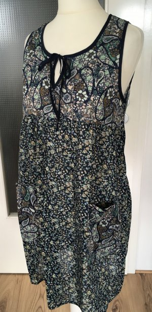 Neu H&M Kleid Blumen Print Muster Strandkleid Sommerkleid XS 34