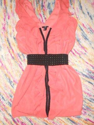 NEU H&M Kleid Chiffonkleid kurz 34 36 XS S Partykleid Coctailkleid Abendkleid Sommerkleid Mini
